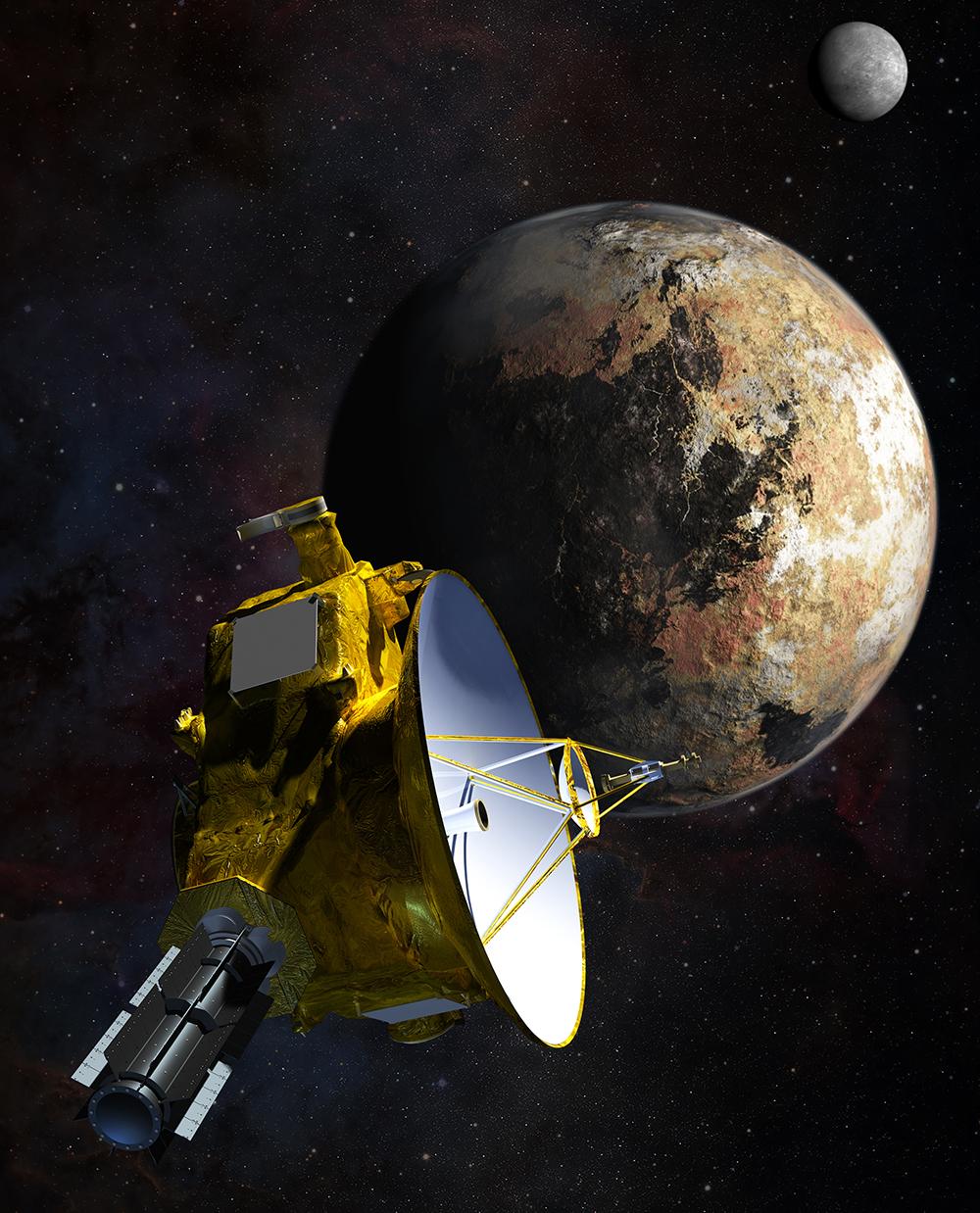 (Nederlands) NASA haalt New Horizons uit zijn winterslaap
